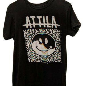 Attila Fake Friends Metal Band Tee Size Small